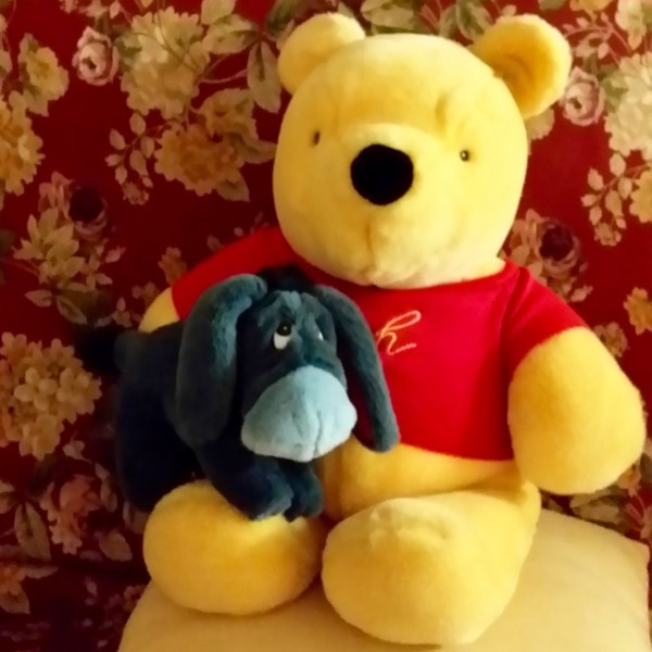 pooh and eeyore (2)